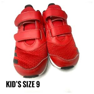Kid's Red Adidas